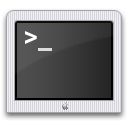 a Mac terminal