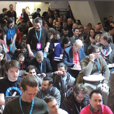 Audience at Wordcamp London 2015